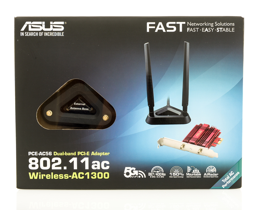 ASUS 802.11AC wireless card for a desktop computer